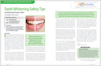teeth whitening magazine spread