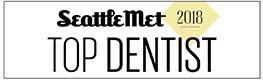 Seattle Met 2018 Top Dentist Award