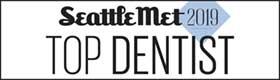 Seattle Met 2019 Top Dentist Award
