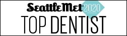 Seattle Met 2020 Top Dentist Award